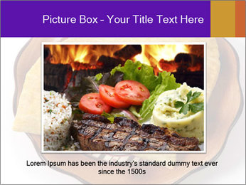 Crispy Pattie For Lunch PowerPoint Templates - Slide 16