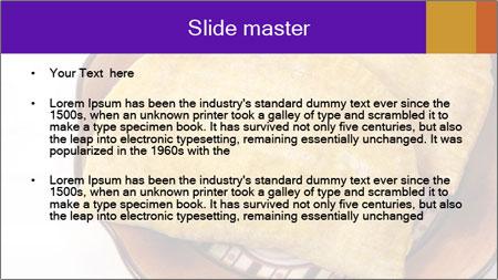 Crispy Pattie For Lunch PowerPoint Template - Slide 2