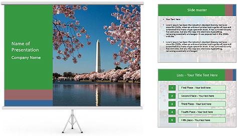 Spring In Japan PowerPoint Template