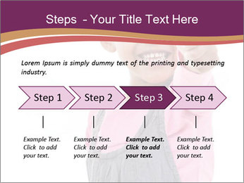Innocent Girl PowerPoint Templates - Slide 4