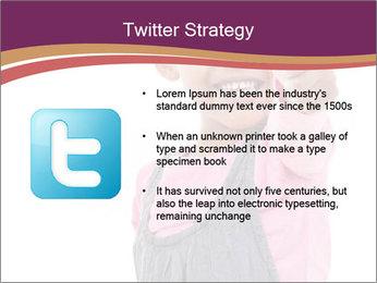 Innocent Girl PowerPoint Templates - Slide 9