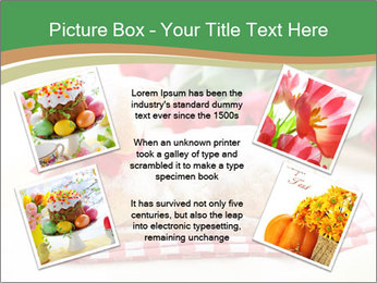 Easter Sheep Cake PowerPoint Template - Slide 24