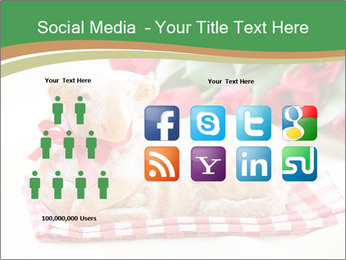 Easter Sheep Cake PowerPoint Template - Slide 5