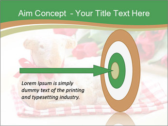 Easter Sheep Cake PowerPoint Templates - Slide 83