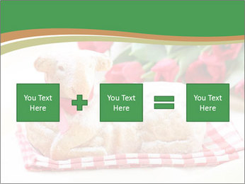 Easter Sheep Cake PowerPoint Templates - Slide 95