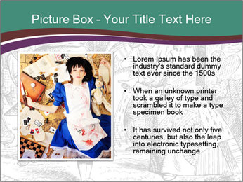 Alice In Wonderland PowerPoint Templates - Slide 13