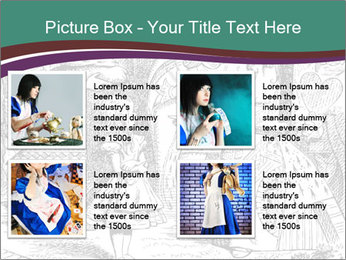 Alice In Wonderland PowerPoint Templates - Slide 14