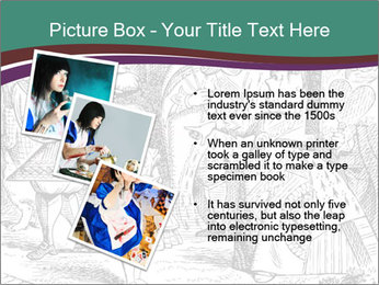 Alice In Wonderland PowerPoint Templates - Slide 17