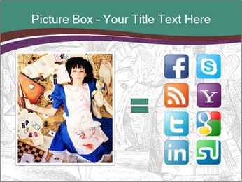 Alice In Wonderland PowerPoint Templates - Slide 21