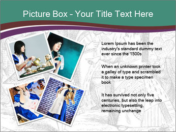 Alice In Wonderland PowerPoint Templates - Slide 23