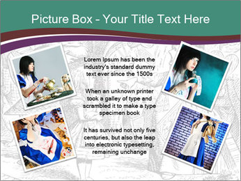 Alice In Wonderland PowerPoint Templates - Slide 24