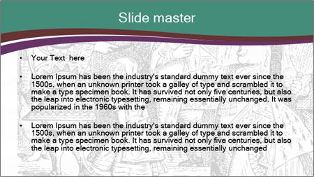 Alice In Wonderland PowerPoint Template - Slide 2