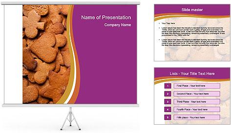 Chocolate Cookies PowerPoint Template