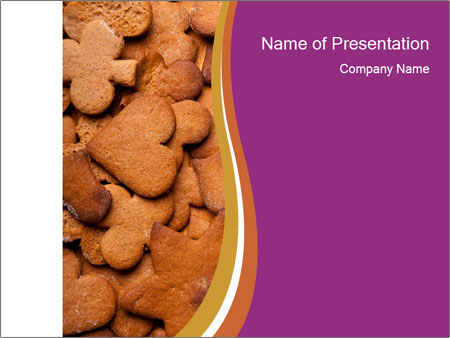 Chocolate Cookies PowerPoint Template