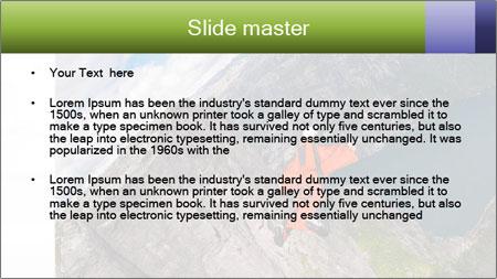 Fjord Adventure PowerPoint Template - Slide 2