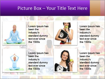 Healthy Life Collage PowerPoint Template - Slide 14