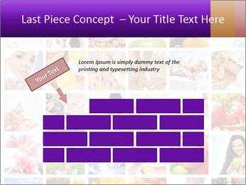 Healthy Life Collage PowerPoint Template - Slide 46