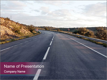 Freeway PowerPoint Template