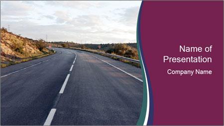 Freeway PowerPoint Template