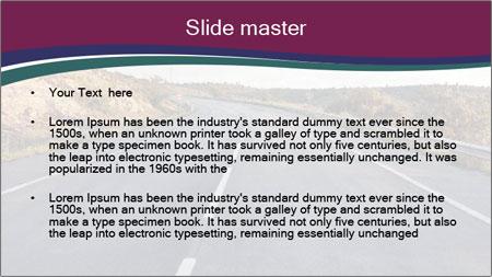Freeway PowerPoint Template - Slide 2