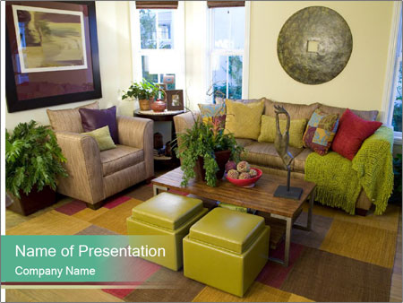 Cozy Apartment PowerPoint Templates