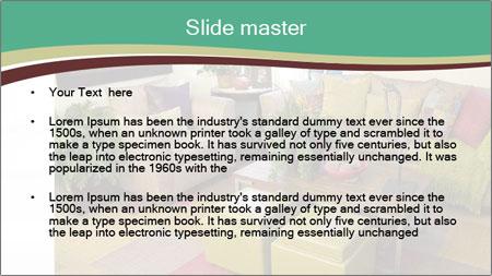 Cozy Apartment PowerPoint Template - Slide 2