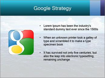 Blue Oceanic Water PowerPoint Templates - Slide 10
