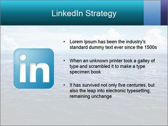 Blue Oceanic Water PowerPoint Templates - Slide 12