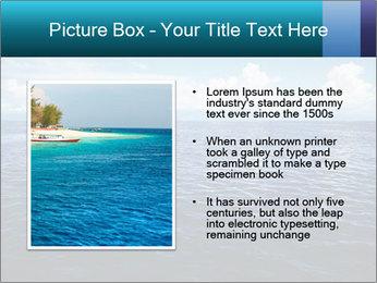 Blue Oceanic Water PowerPoint Templates - Slide 13