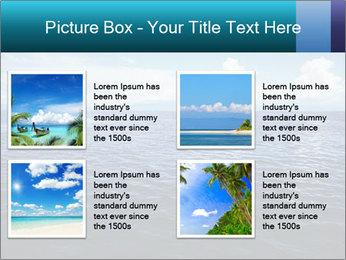 Blue Oceanic Water PowerPoint Templates - Slide 14