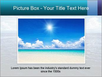 Blue Oceanic Water PowerPoint Templates - Slide 15