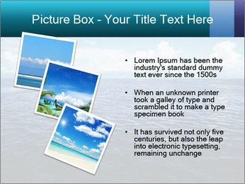 Blue Oceanic Water PowerPoint Templates - Slide 17