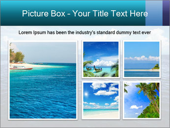 Blue Oceanic Water PowerPoint Templates - Slide 19