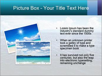 Blue Oceanic Water PowerPoint Templates - Slide 20