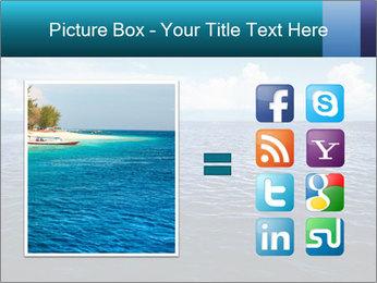 Blue Oceanic Water PowerPoint Templates - Slide 21
