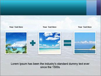 Blue Oceanic Water PowerPoint Templates - Slide 22