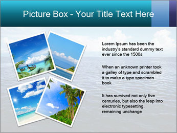 Blue Oceanic Water PowerPoint Templates - Slide 23