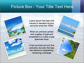 Blue Oceanic Water PowerPoint Templates - Slide 24