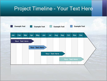 Blue Oceanic Water PowerPoint Templates - Slide 25