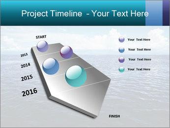 Blue Oceanic Water PowerPoint Templates - Slide 26
