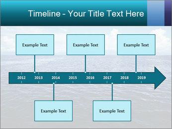 Blue Oceanic Water PowerPoint Templates - Slide 28