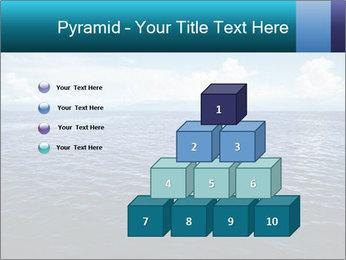 Blue Oceanic Water PowerPoint Templates - Slide 31