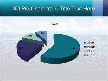 Blue Oceanic Water PowerPoint Templates - Slide 35
