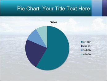 Blue Oceanic Water PowerPoint Templates - Slide 36