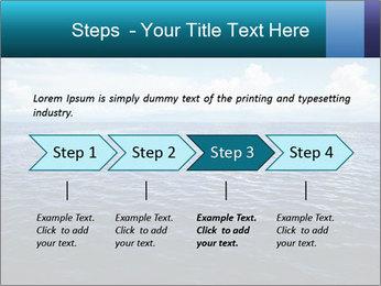 Blue Oceanic Water PowerPoint Templates - Slide 4