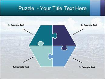Blue Oceanic Water PowerPoint Templates - Slide 40