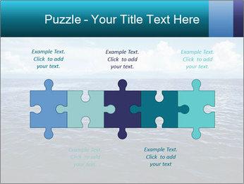 Blue Oceanic Water PowerPoint Templates - Slide 41
