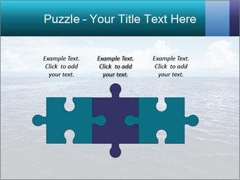 Blue Oceanic Water PowerPoint Templates - Slide 42