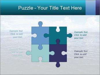 Blue Oceanic Water PowerPoint Templates - Slide 43
