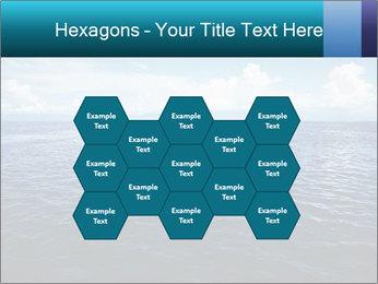 Blue Oceanic Water PowerPoint Templates - Slide 44